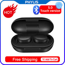 Heylou <b>A6X TWS Bluetooth</b> Wireless Earphone Fingerprint Touch ...