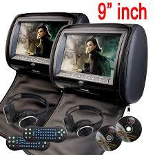 Eincar 9'' <b>Car</b> Headrest pillow DVD Player zipper <b>car Monitor TFT</b> ...