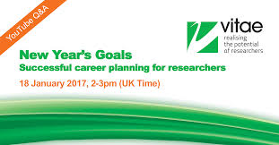 vitae live q a successful career planning for researchers vitae live q a successful career planning for researchers 18 14 00 research matters
