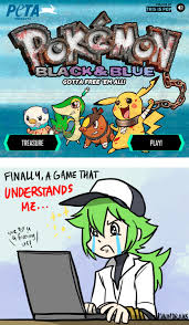 Image - 414762] | Pokémon Black and Blue / PETA Pokémon Parody ... via Relatably.com