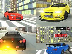 <b>Skyline Drift</b> 3D - free online game