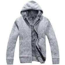 Autumn Winter Men's Thick Jackets Casual Warm Hoodies ... - Vova