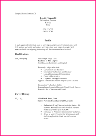 12 sample student cv comsample mature student cv