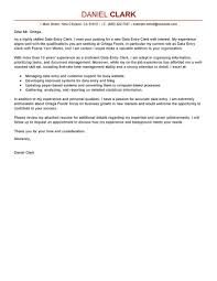 Sample Cover Letter For Entry Level Job Template