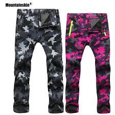 Mountainskin <b>Women</b> Men Fleece Pants Waterproof Warm ...