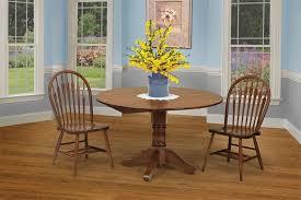 amish drop leaf  pid  amish monroe dropleaf pedestal dining room table