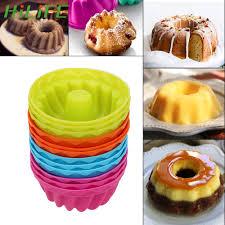 <b>HILIFE Baking</b> Jelly <b>Mould Silicone</b> Pudding Cupcake Muffin Donut ...