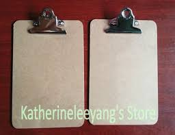 big sale a5 mdf clip board portrable wooden file clipboard restaurant clipboard with hook office supplies a5 clipboard clip boards