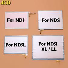 JCD 1pcs <b>Top Bottom Upper</b> Lower LCD Screen for NDSL Game ...