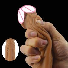 <b>FAAK</b> skin color <b>realistic dildo soft</b> silicone penis suction sex toys for ...