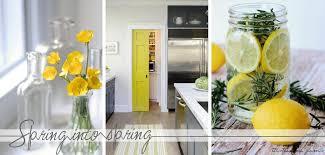 easy home decor idea:  spring