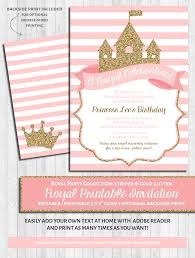 princess party invitations pink and gold glitter wonderbash princess party invitations pink and gold glitter
