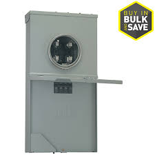 shop circuit breakers load centers fuses at lowes com ge 8 circuit 4 space main breaker load center