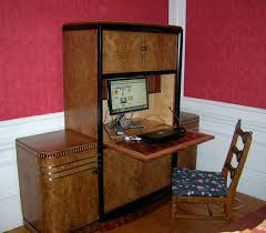 art deco computer staition art deco desk computer