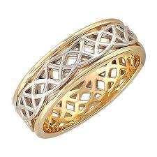 Обручальные <b>кольца</b> из комбинированного золота - купить ...