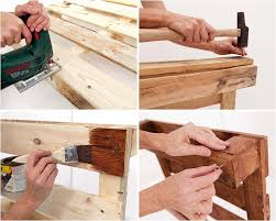 diy pallet furniture reusing building shelf build pallet furniture