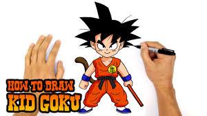 How to Draw <b>Kid</b> Goku | <b>Dragon Ball</b> Z - YouTube