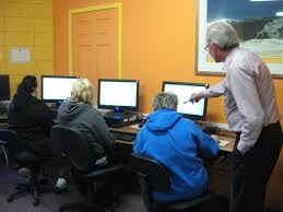 helping adults low literacy has a positive impact on future students at the hamilton literacy council are learning new computer skills