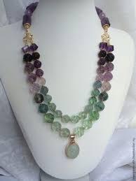 <b>Колье</b> из натуральных камней АСТРА - купить или заказать в ...