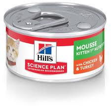 Купить <b>Корм</b> для котят <b>Hill's</b> Science Plan с курицей, с индейкой 82 г