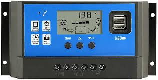 40A PWM <b>Solar Panel</b> Battery Regulator Charge Controller Safe ...
