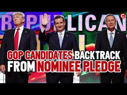 Image result for promise to support the nominee