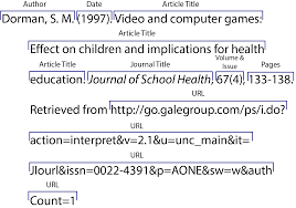 online sources citing information libguides at university of apa online article from a scholarly journal retrieved from an online database