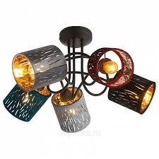<b>Globo</b> Lighting Ticon <b>15266</b>-<b>5D люстра потолочная</b> купить в ...