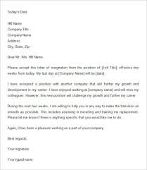 two weeks notice letter –    free word  pdf documents download    give your two weeks notice letter in doc   a professional epistle that says everything you need to say  remember to mention what a pleasure it has been