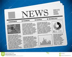 business newspaper template european economy stock vector business newspaper template european economy