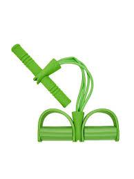 Универсальный латексный эспандер с ручками и упорами для ...
