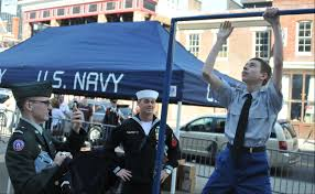 file u s navy operations specialist st class braden mitchell file u s navy operations specialist 1st class braden mitchell center a recruiter stationed