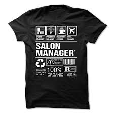 salon manager t shirt