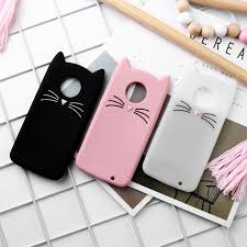 <b>Soaptree</b> Cat Ears <b>Case For</b> Motorola Moto G6 G5S G5 E5 Play E4 ...