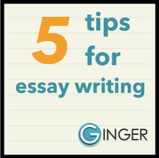 tips for stress free essay writing  ginger software  tips for stress free essay writing
