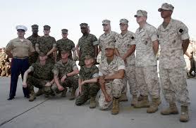 sgt maj estrada s returning warriors > 2nd marine division hi res photo