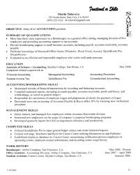 resume examples qualification in resume sample qualification sample of resume objective as accounting posititon and summary of qualifications as