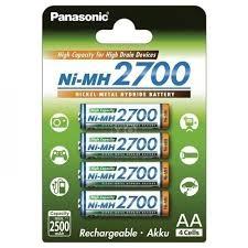 ≡ <b>Аккумулятор Panasonic</b> High Capacity <b>AA</b> 2700 mAh 4BP NI-MH ...