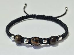 Unisex Fashion Braided <b>Adjustable</b> Chakra Shamballa Bracelet ...