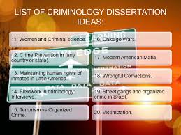 essay topics criminology essay topics