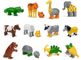 Mix & Match Magnetic <b>Animals</b> - <b>Complete</b> Set at Lakeshore Learning