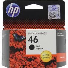 Оригинальный <b>картридж HP</b> CZ637AE (<b>№46</b>) пигментный ...
