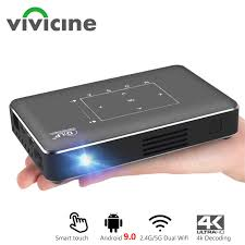<b>Vivicine</b> Support 4K Mini Projector,4000mAh battery,Support ...
