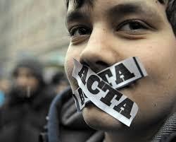 Tweede Kamer verwerpt omstreden ACTA-verdrag. Er is veel gedemonstreerd tegen ACTA, omdat het verdrag gezien wordt als een bedreiging voor - acta