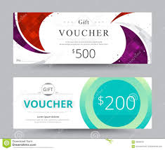 gift voucher coupon template design for special time coupon temp gift voucher card template design for special time coupon temp royalty stock images