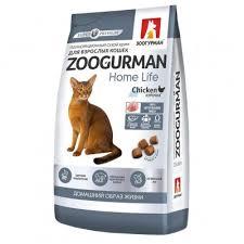 Марсик <b>Зоогурман</b> Home Life <b>сухой корм</b> для кошек Курочка ...