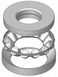 Thrust needle bearings