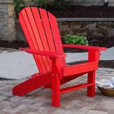 Amazoncom  Jayhawk Plastics Recycled Plastic Seaside Adirondack Chair Patio Lawn U0026amp  C