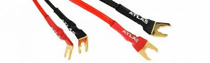 <b>Перемычка</b> для подключения <b>акустики</b> Atlas черный (проводник ...