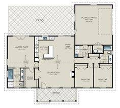 images about Floor Plans on Pinterest   Square feet  Garage    houseplans com  This is probably realistic for when we are ready to build